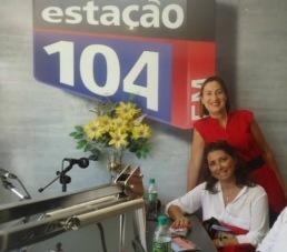 Entrevistas na radio 104