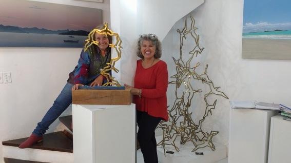 Fernanda Guimarães e FLory Menezes